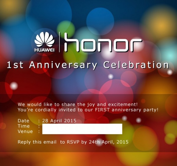 Honor Malaysia First Anniversary Celebration