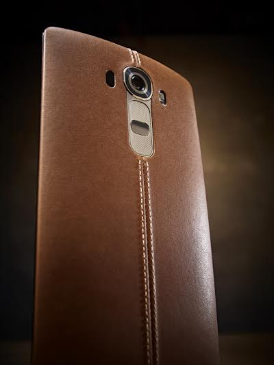 LG G4 Leather Alone