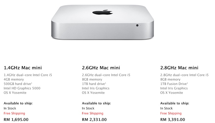 Apple Increases Price Of All Mac Devices In Malaysia Following Gst