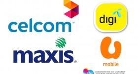 Malaysia Postpaid Telco Logos