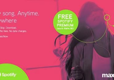 Maxis Free Spotify Premium