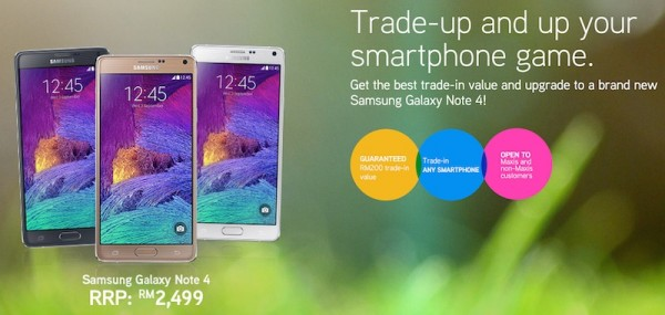 Maxis Trade In Program Samsung Galaxy Note 4