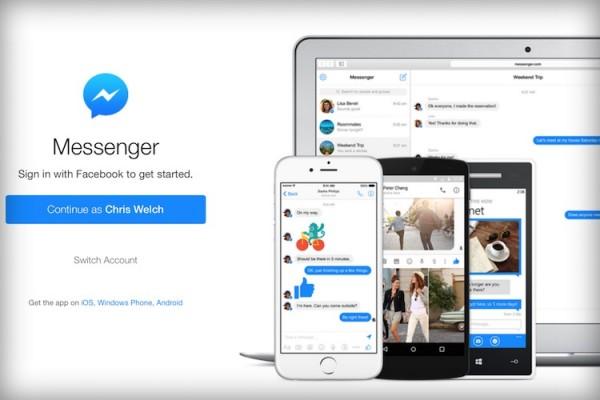 Messenger.com Facebook