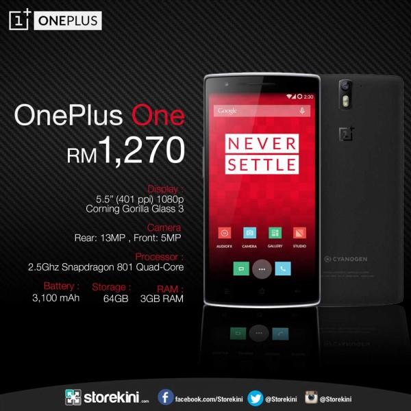 OnePlus One Storekini