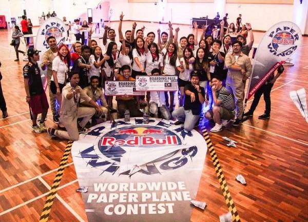 Red Bull team shot