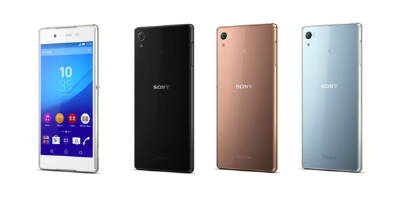 Sony Xperia Z4 Colours