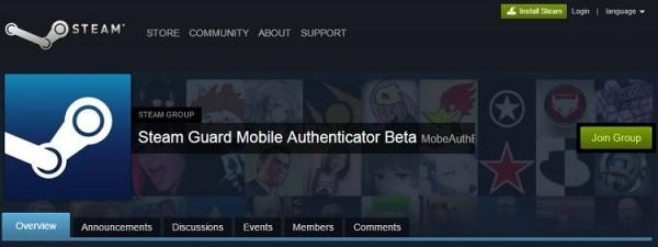 Steam Guard Mobile Authenticator