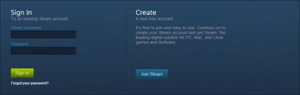 Steam Login