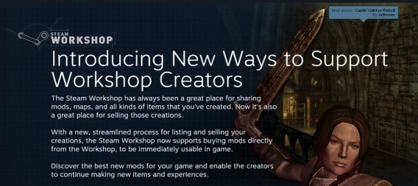 Steam Workshop Paid Mods