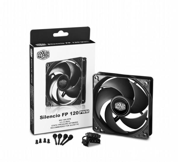The New Cooler Master Silencio FP Series Case Fans