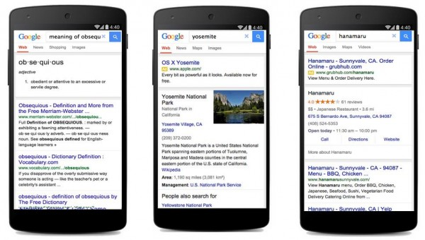 google-streamlined-search