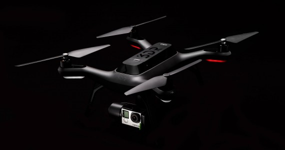 3DR Solo Drone Takes Flight, World's First Smart Drone