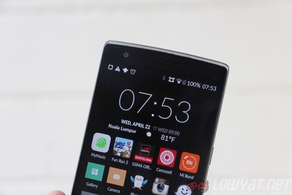 that being said not all is perfect about the oneplus one although it