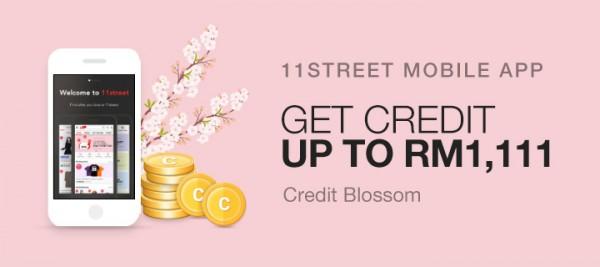 11street Credit Blossom Promotion