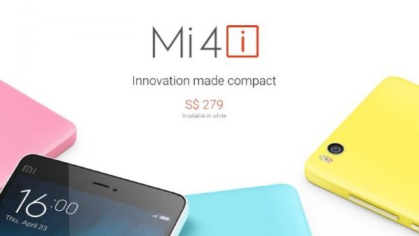 Xiaomi Mi 4i Price For Singapore
