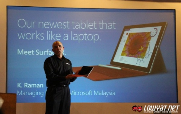 Surface 3 Launch Malaysia