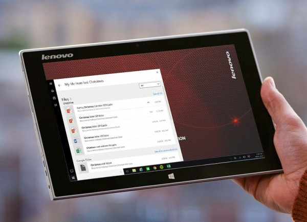 Lenovo REACHit with Cortana