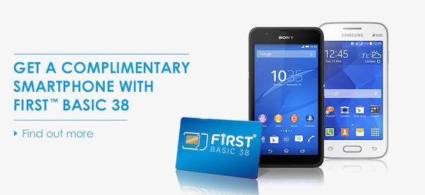 Celcom First Basic 38 Phone Bundle