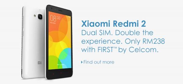 Celcom Xiaomi Redmi 2