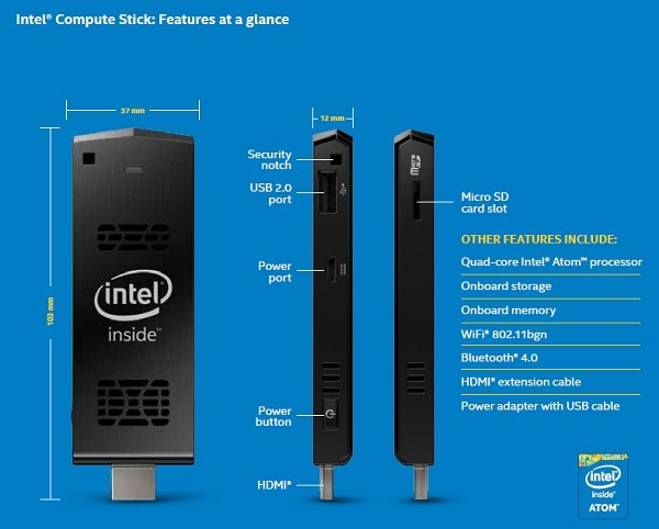 Compute Stick Features