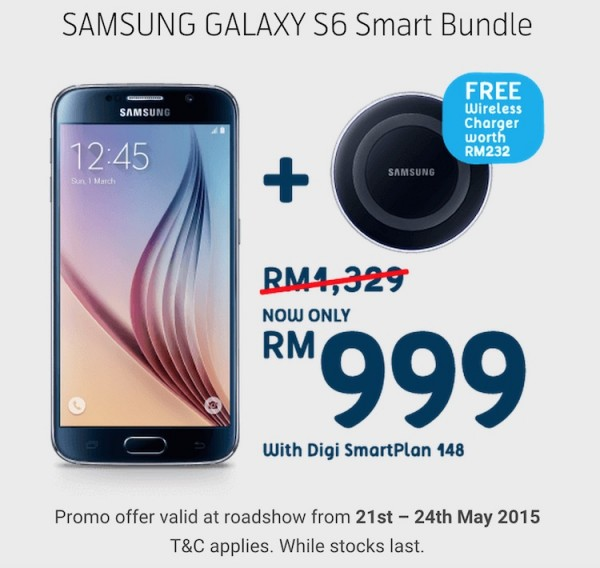 Digi 1 Utama Launch Promotion Galaxy S6 RM999
