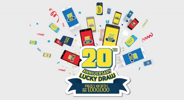 Digi 20th Anniversary Lucky Draw
