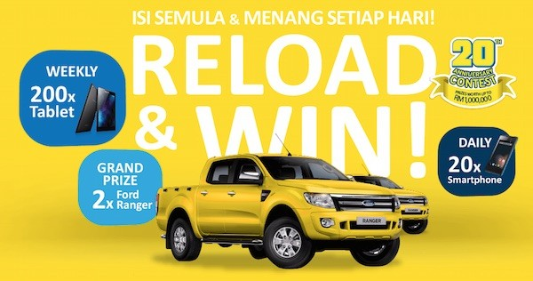 Digi Reload And Win
