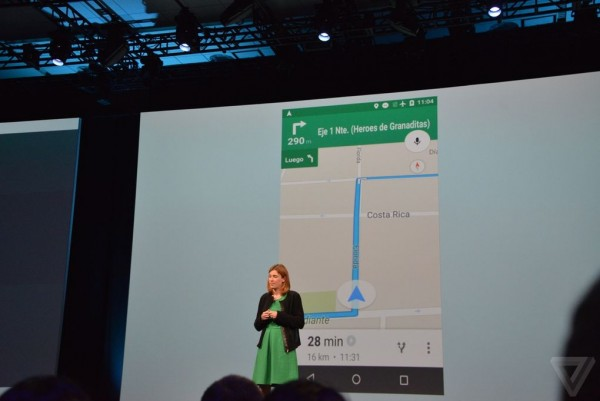 Google IO 2015 Maps Offline Navigation