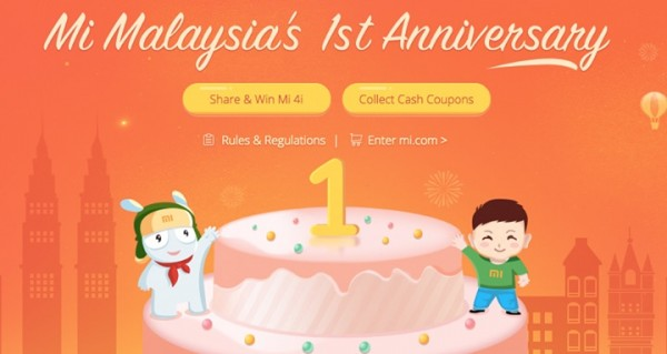 Mi Malaysia First Anniversary