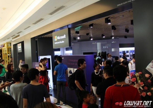 Microsoft Authorized Reseller Store Suria KLCC Launch 01