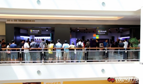 Microsoft Authorized Reseller Store Suria KLCC Launch 02