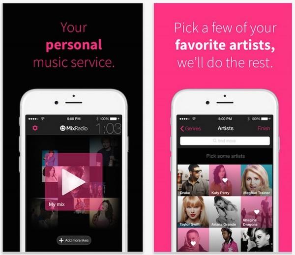 MixRadio iOS