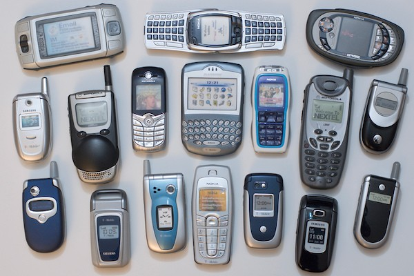 Old Feature Phones