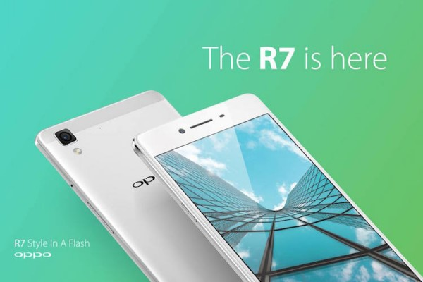 Oppo R7 is here