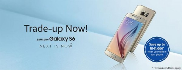 Samsung Galaxy S6 Trade Up