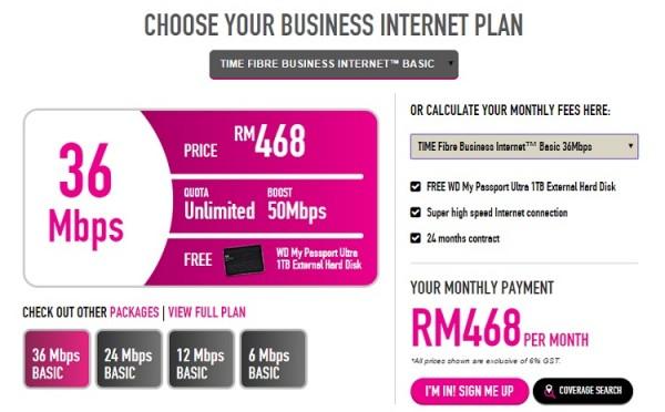 TIME Business Broadband