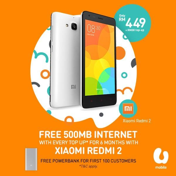 U Mobile Redmi 2