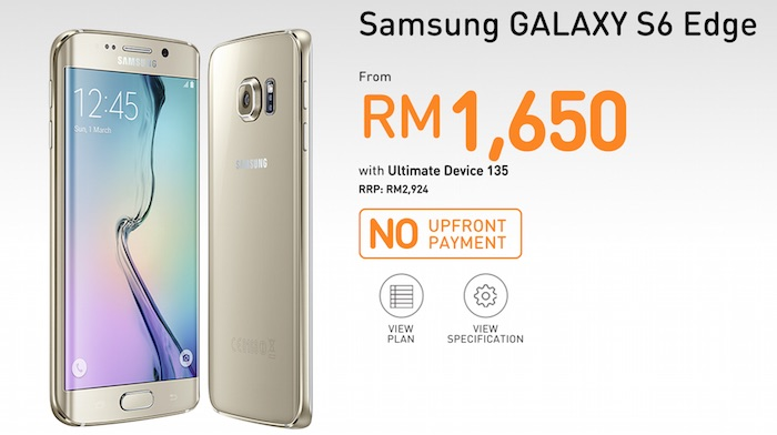 4a959f3089 U Mobile Now Offering Samsung Galaxy S6 and S6 edge From RM1