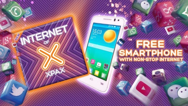 Xpax Free Smartphone with Non Stop Internet