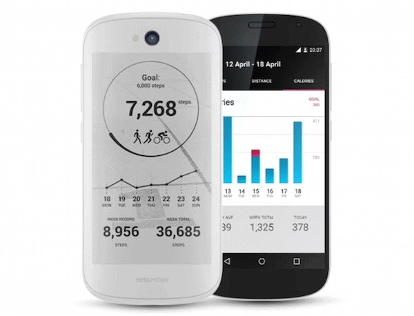 YotaPhone 2 Native Apps Fitness