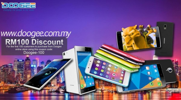Doogee Malaysia Online Store Discount
