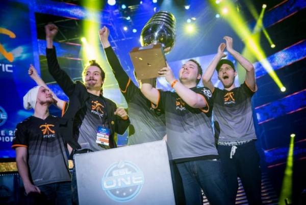 Fnatic: Champion of ESL One Katowice 2015