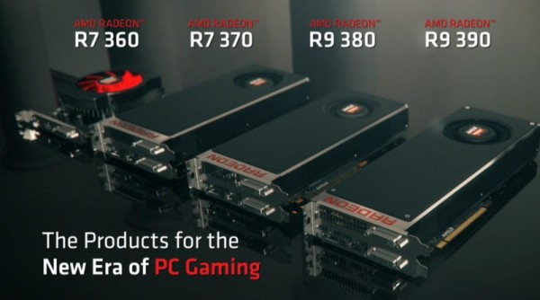 AMD Radeon R9 and R7 300 Series Graphics Card
