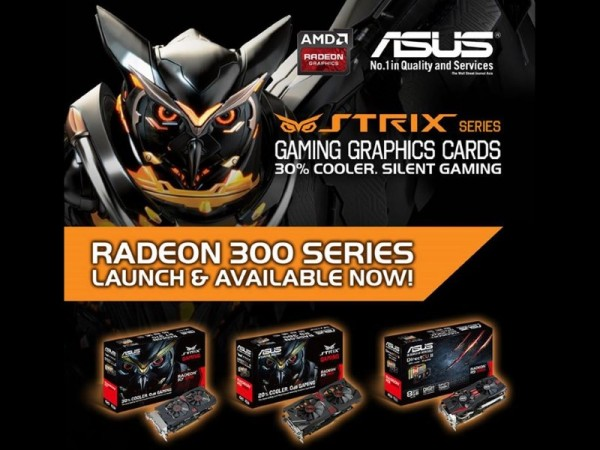 ASUS Radeon 300 Series