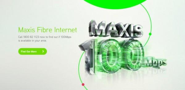 Maxis Fibre Internet 100 Mbps