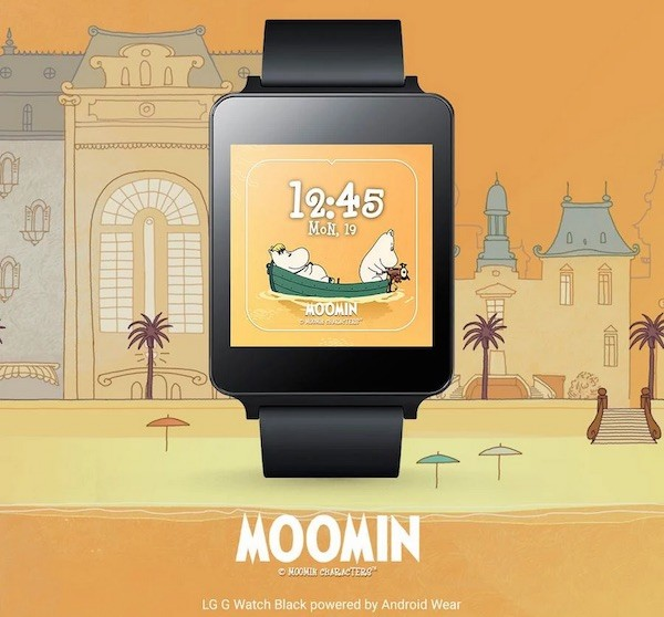 Android Wear Moomin