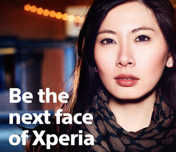 Be the next face of Xperia 1