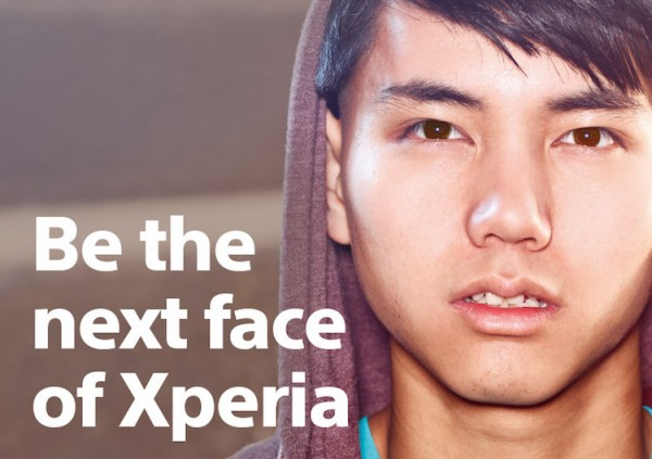 Be the next face of Xperia 2