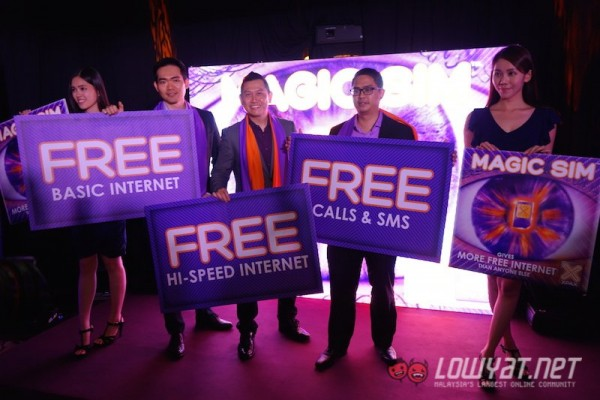 Celcom Xpax Magic SIM Launch