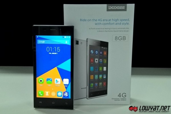 Doogee Turbo-Mini F1